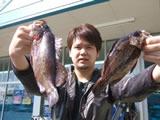 優勝 中川 準さん 31.6cm 470g