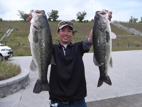 好調の小野湖を制したのは中崎優斗さん