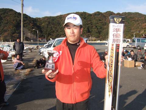 第2位は美祢市の杉田弘行さん