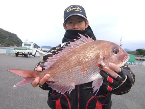 他魚の部大物賞は古江巧弥さん