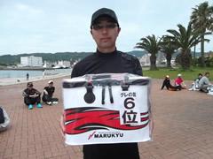 6位は横山 勝さん