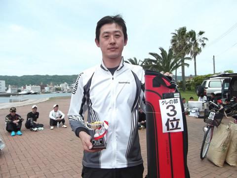 第3位は伊藤 健さん