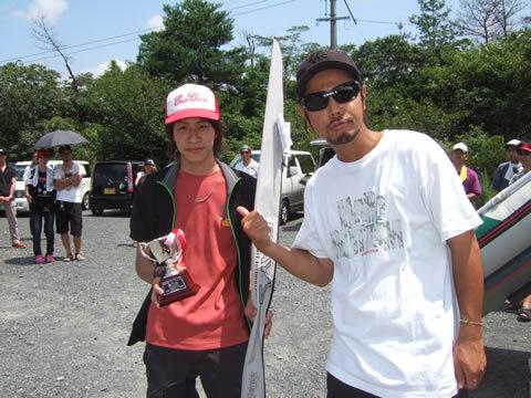 第3位は初出場ながらも知る人ぞ知る則松大雄さん。