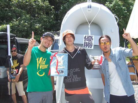 優勝は増田博紀さん