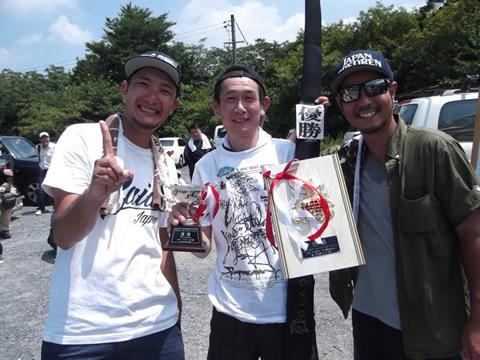 優勝は藤本和伸さん