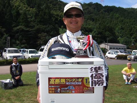 第2位は竹井秋暢さん