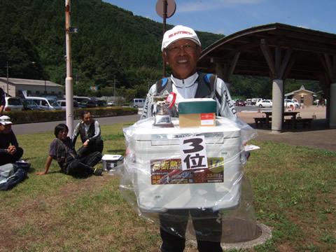 第3位は田村忠男さん