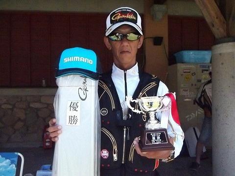 優勝は真田浩二さん
