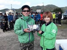 第11位は、工藤慎太郎さん