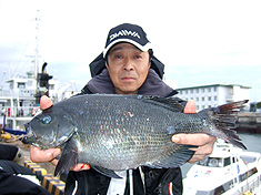 池嶋英男さん42cm