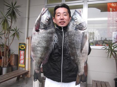 チヌ大漁!