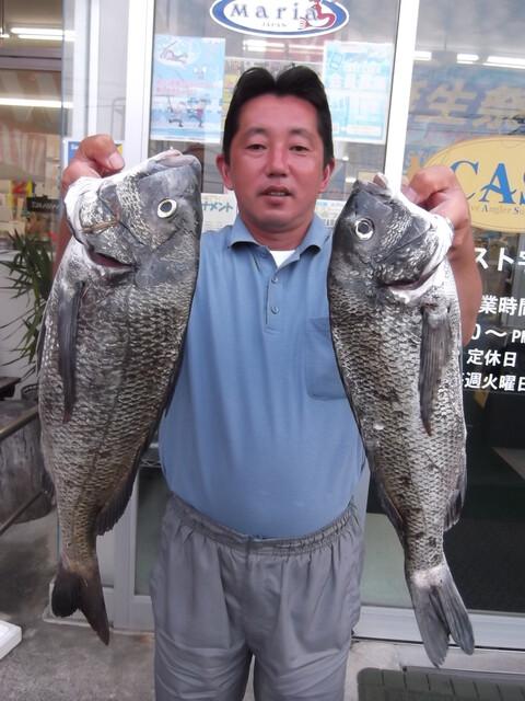 投げ釣りで釣れました!