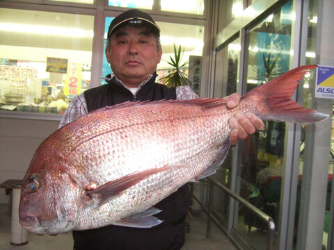 美しい魚体!