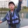 初めての釣りで!
