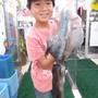初めて釣りました!