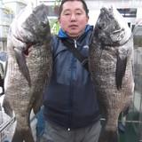 初釣りで!