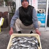 初釣りで大漁!