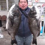 40cmオーバー5匹の大漁!