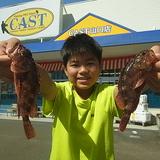 魚釣り楽しい❕