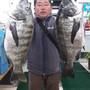 3匹の大漁でした!