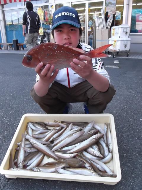 魚釣り、楽しい~♪