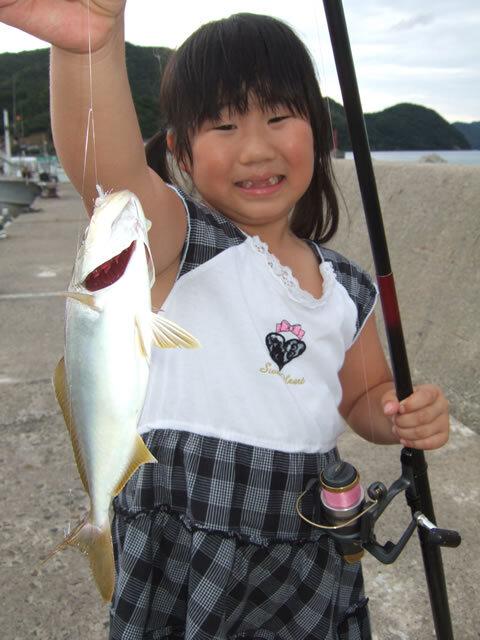 野波瀬漁港 カンパチ 27cm